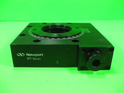 Newport Rotation Stage NO Micrometer -- Model 471 -- Used