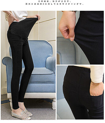 Functional Maternity Pants Outer Wear Casual Leggings Bottom For Pregnant Women