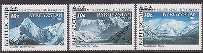 Kyrgyzstan 2000 International Year Of Mountains Mnh M16427