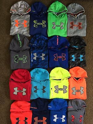 Boy's Youth Under Armour Loose Fit Hoodies Cold Gear
