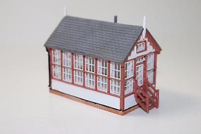 OO 1:76 scale Hornby Skaledale Platform Signal Box R9814 New FNQHobbys