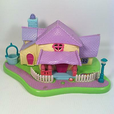 Vintage Polly Pocket Minnie's Surprise Party Play House - Incomplete