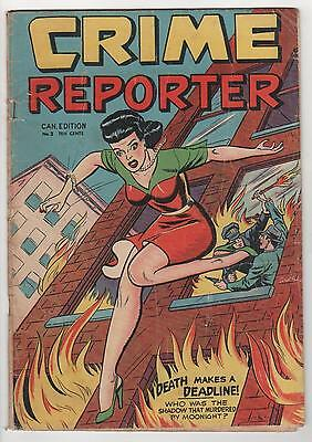 Crime Reporter no. 3 canada headlights cover  Good 2.0