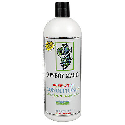 Cowboy Magic Rosewater Conditioner  473ml  Horse Showing, Dressage, Jumping