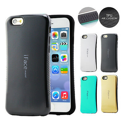 iPhone 7 / 6S 6 Plus / 5 5S Case, Genuine iFace Heavy Duty Tough Cover For Apple