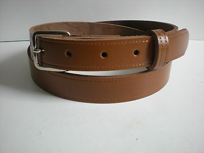 Children's real leather belts in Tan