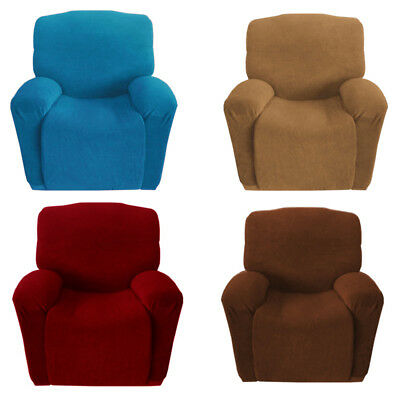 1Seater Stretch Couch Chair Cover Super Fit Sofa Recliner Slipcover Protector AU