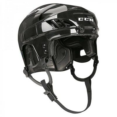 New Ccm Fitlite 40 Helmet Color Black Size - Senior Free Shipping
