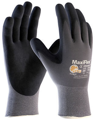 ATG Maxiflex Ultimate Foam Nitrile General Purpose Gloves Size 7/Small 12 PACK