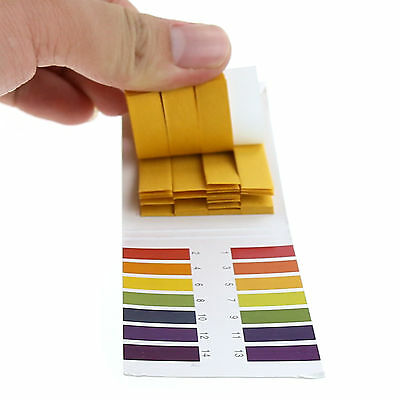 80 x Bandelettes Testeur PH Papier Indicateur PH Tester Acide Alcaline Eau Test