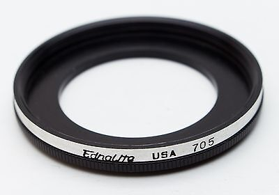 40mm Lens to Series VII (7) Filter Adapter Step Up Stepping Ring Ednalite 705