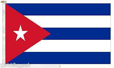 Cuba Roped & Toggled 2 Yard Boat Flag