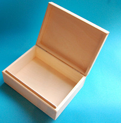 Unfinished Wooden Box 24.5x17.5x9cm, #DW890