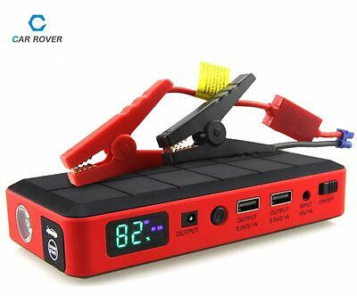 12V AUTO Booster Battery Power Bank Car Jump Starter Emergency Charger 26000mAh