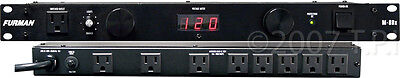 Furman M-8Dx Power Conditioner with Digital Meter - 15 Amp