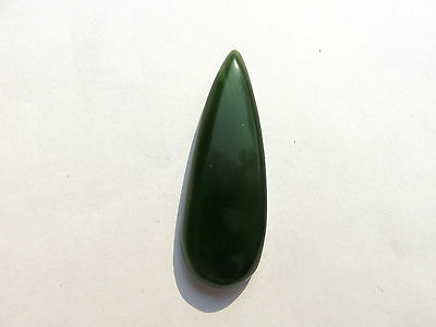 Serpentin New Jade - Serpentine Cabochon 47,3x16,4 mm 38 ct. U15055