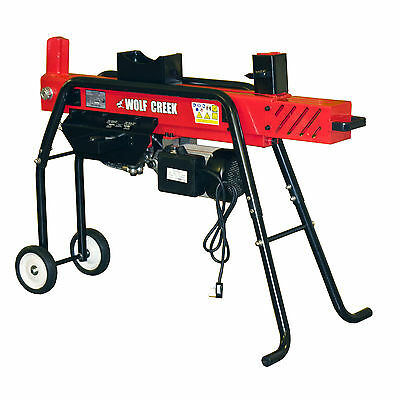 Cherokee 8 ton Hydraulic Log Splitter Electric Dual Action Wood Cutter & Stand