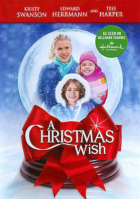 A Christmas Wish (DVD, 2011)  Kristy Swanson seen on Hallmark Channel  BRAND NEW