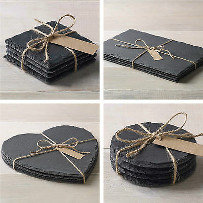 Slate Coasters Placemats Heart Tableware Table Runner Cheese Board Chopping Mat