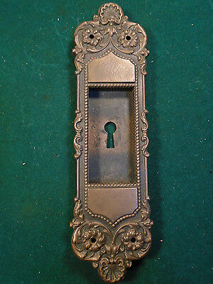 Heavy Yale & Towne Cast Brass Pocket Door Handle/pull - Victorian (6335)