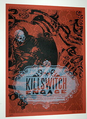 Killswitch - Engage - The Key Club - Myspace Secret Show Concert Poster