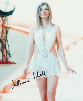 Catherine Schell SIGNED photo - J119 - Space: 1999