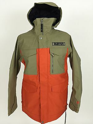 Burton Twc Cannon Jacket Dryride 2L Thermacore Jacke Giacca Chaqueta Size M Men