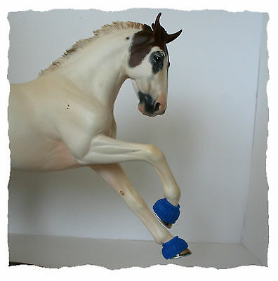 TOP LSQ Rubber Bell Boots For Model Horse Breyer Resin Stone Tack Accessories