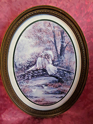 """Home Interiors Victorian Couple on Bridge Oval Picture 17"""" high"""