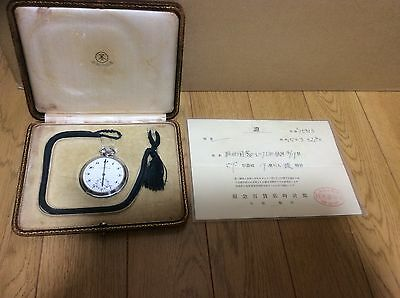 Rolex pocket watch, antique, vintage, very rare, junk, warranty certificate 1940