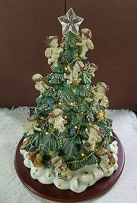 2001 Danbury Mint The DREAMSICLES CHRISTMAS TREE, Lighted!