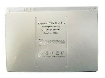 """New Battery A1189 for Apple MacBook Pro 17"""" A1151 M4092"""