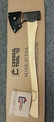 """Council Tool Woodcraft Pack Axe w/ 24"""" Handle"""