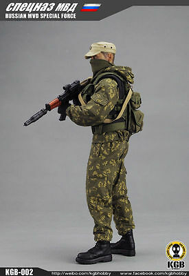1/6 scale KGB 002 Soldier Russian ministry special forces MVD action figure doll