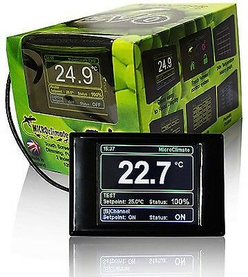 Microclimate EVO Digital Reptile Thermostat - Pulse or Dimming Vivarium Stat
