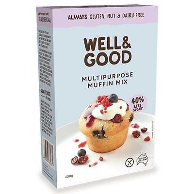 Well and Good Muffin Mix 450g