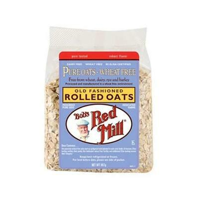 Bobs Red Mill Rolled Oats Pure 907g
