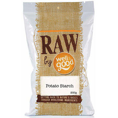Well and Good Raw Potato Starch 500g