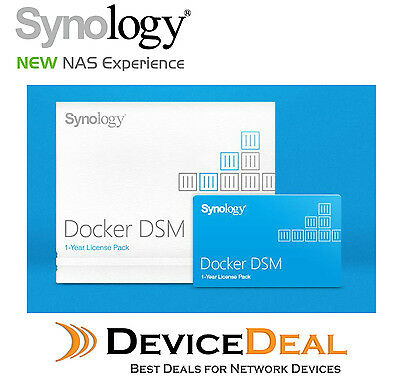 SYNOLOGY DOCKER DSM 1 Year License