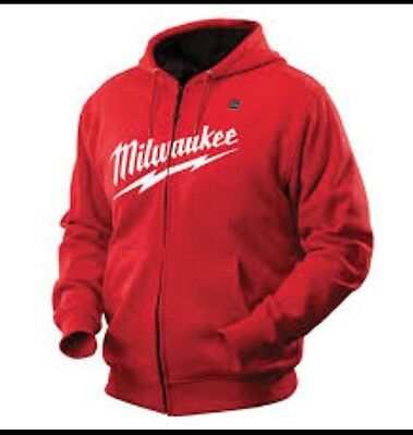 Milwaukee Heated Hoodie RED - M12HHRED-0M (skin only) NEW!!