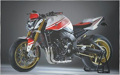 Yamaha Fz1 Fz1N Abs 2009 Abarth Asseto Corse Complete Graphic Kit