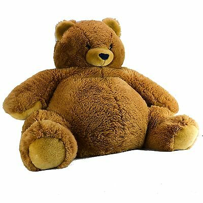 "24"" Sitting FAO Schwarz Fifth Avenue Teddy Bear Brown Black Huge Extra Large"