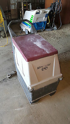 Minuteman 170 Automatic Floor Scrubber Machine Battery Powered Walk Behind