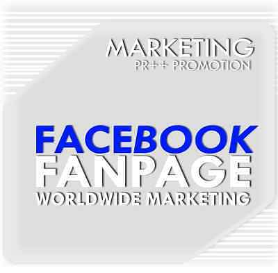 80 Fanpage Promotion real,stable H.Q - worldwide weltweit PR++ Marketing SEO TOP