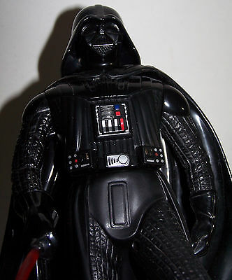 1996 Star Wars Darth Vader Animated Coin Bank - Talks & Lights Up - Working