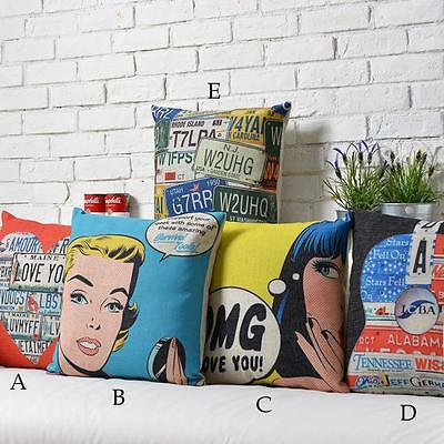 1pcs/5pcs Set Pop Art Marilyn Monroe Back Cushion Cover Shell Throw Pillow Case