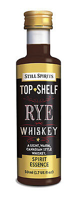 Still Spirits Top Shelf Spirit Essences RYE WHISKEY - CC x1