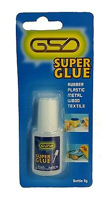 >GSD Super Glue 5g Adhesive For Metal,Plastic,Paper,Glass,Shoe,wood,rubber<