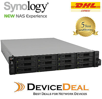 Synology RackStation RXD1215sas SAS 12-bay NAS Expansion Unit