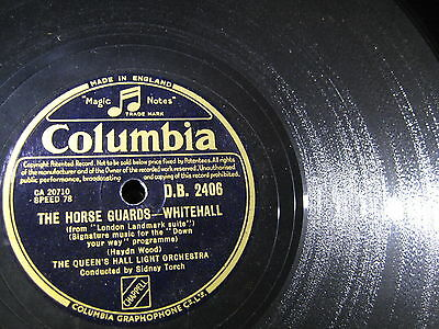 Queen's Hall Orch: Coronation Scot/ Horse Guards - Whitehall - 1948 UK - wie neu